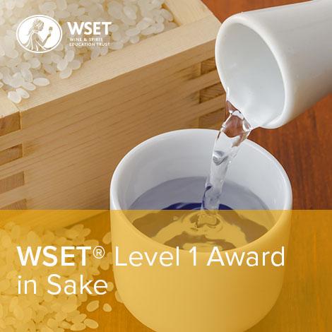 WSET®  Level 1 Award in Sake