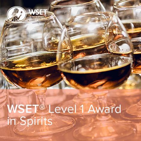 WSET® Level 1 Award in Spirits